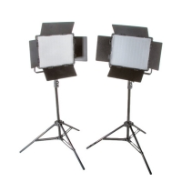 Bresser LED Foto-Video SET 2x LS-600 38W/5.600LUX + 2x Statief
